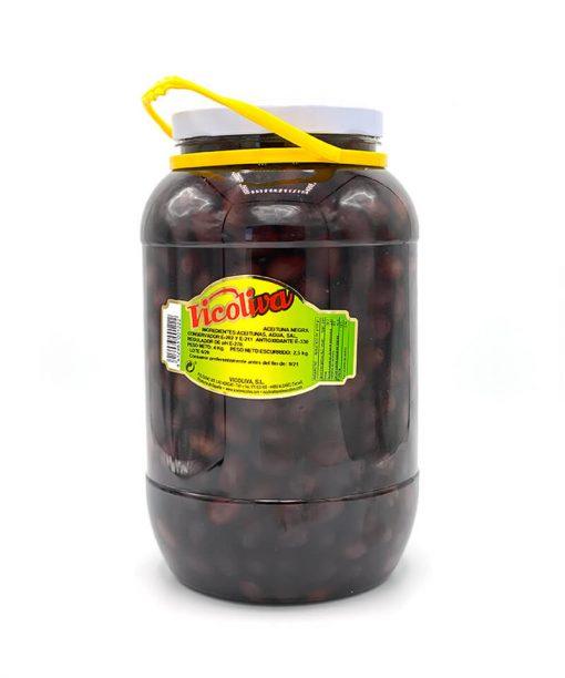 ACEITUNAS NEGRAS (2,5 kg) Vicoliva
