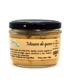 MOUSSE DE QUESO (125 g) Croquellanas