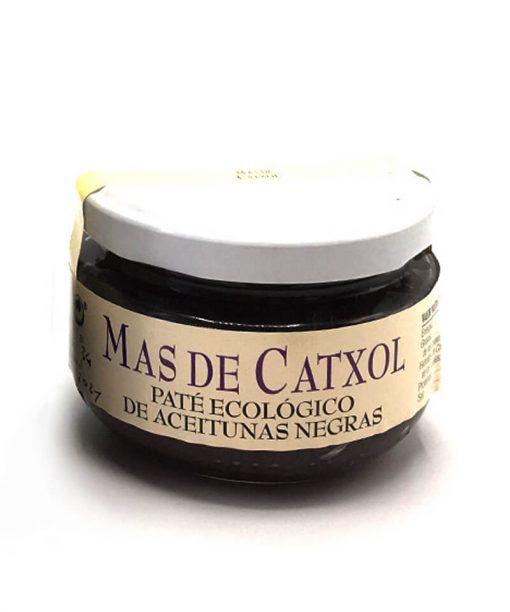 PATÉ DE ACEITUNAS NEGRAS ECOLÓGICO (120 g) Mas de Catxol