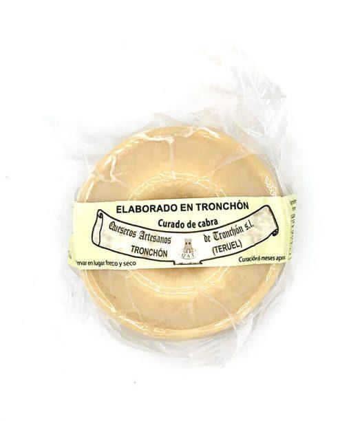 TRONCHÓN CABRA CURADO (aprox 550 g) Queseros artesanos de Tronchón