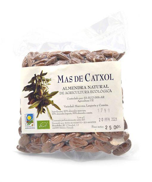 ALMENDRA NATURAL ECOLÓGICA (250 g) Mas de Catxol
